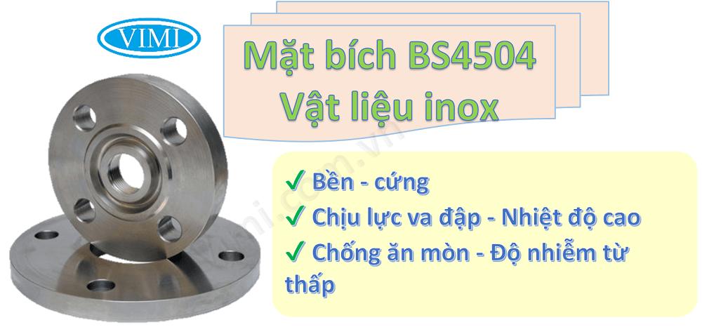 Mặt bích BS4504 pn16 -2