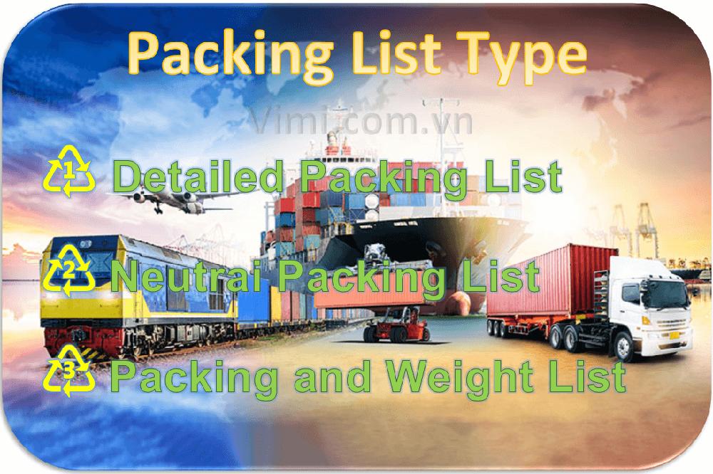 Packing List là gì -2