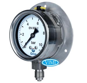 đồng hồ đo áp suất gesa m0306 5