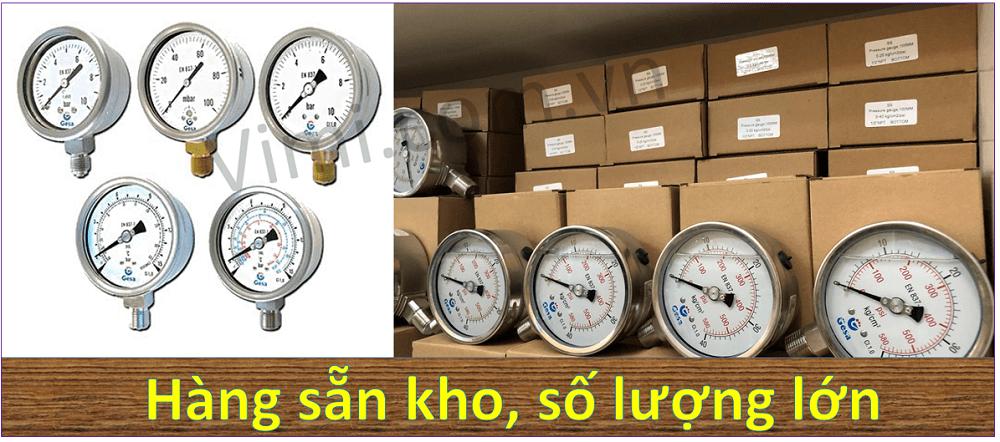 đồng hồ đo áp suất gesa m0301 4