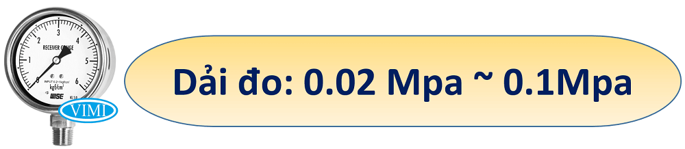 đồng hồ đo áp suất p228 wise 2