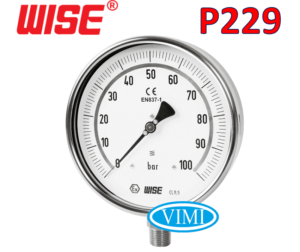 đồng hồ đo áp suất p229 3