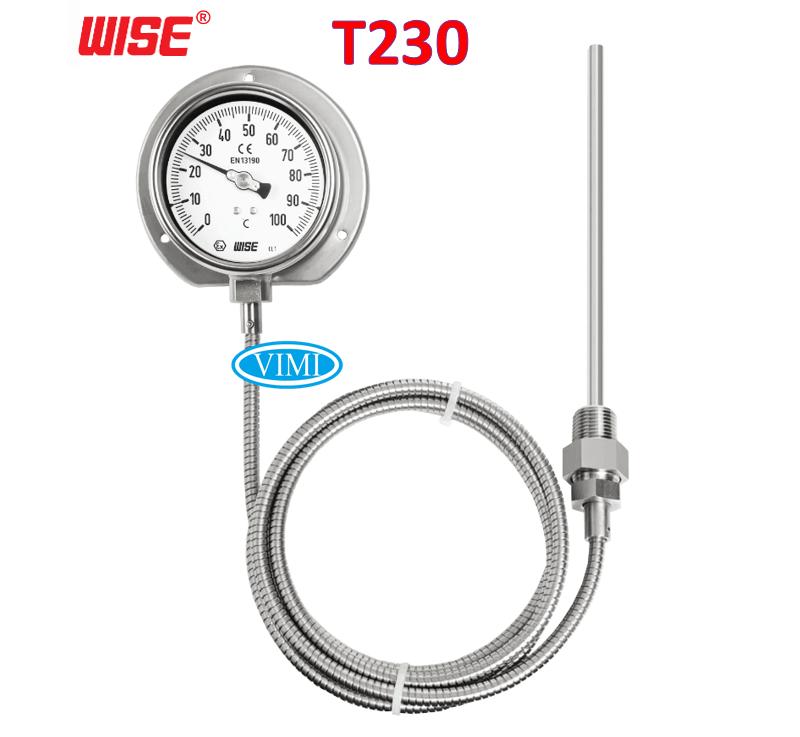 đồng hồ đo nhiệt độ t230 wise 3