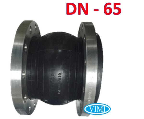 Khớp nối mềm cao su mặt bích dn65 4