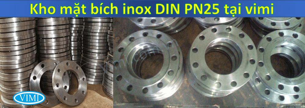 mặt bích inox din pn25 4