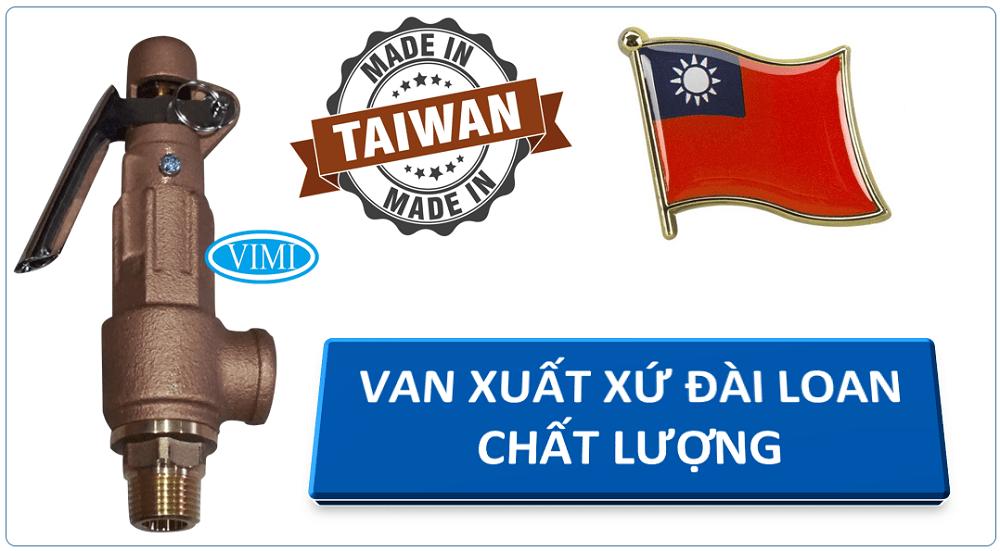 Van an toàn ST xuất xứ Đài Loan chất lượng