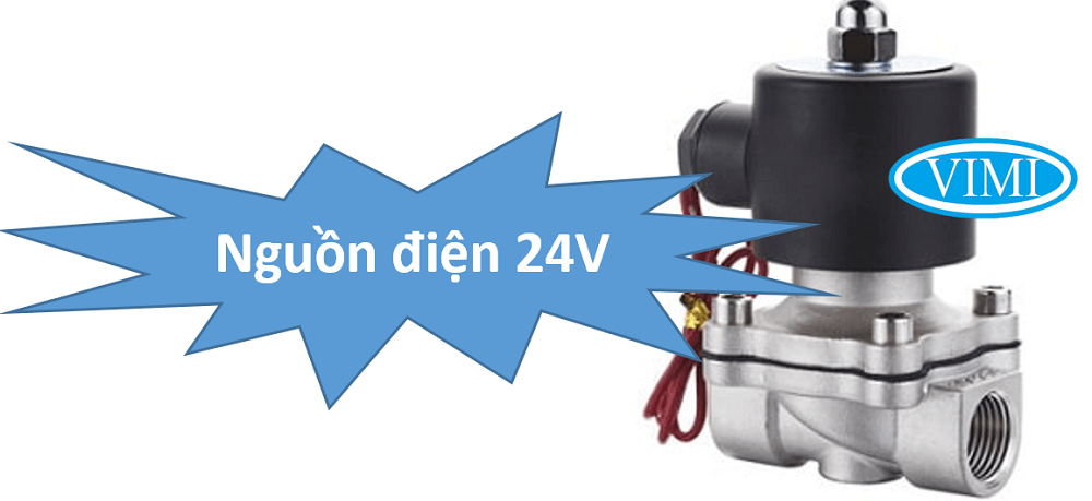 van điện từ inox unid 24V 2