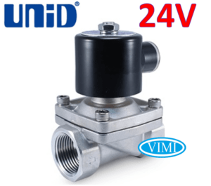 van điện từ inox unid 24V 3