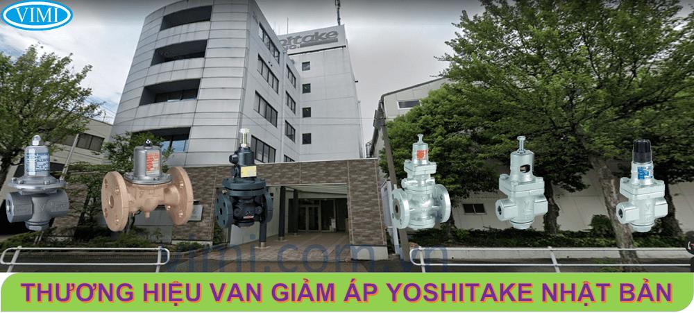 Van giảm áp thương hiệu Yoshitake Nhật Bản
