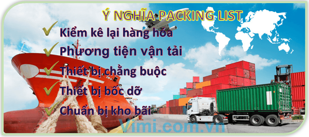 Ý nghĩa Packing List là gì