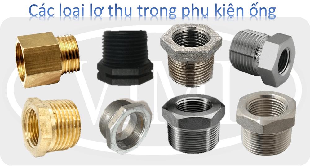 Các loại phụ kiện ống 12