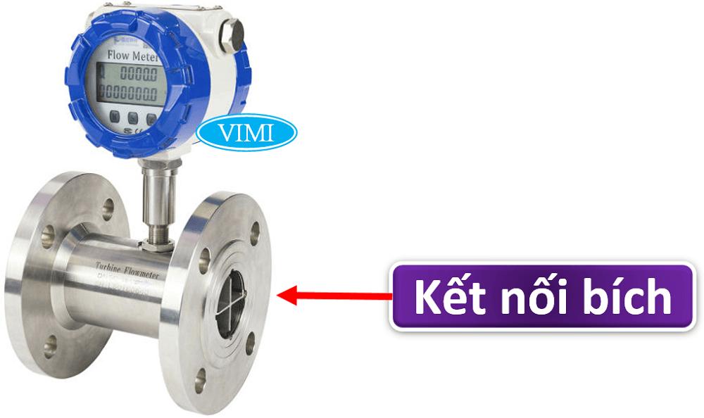 đồng hồ đo lưu lượng nước điện tử inox 3
