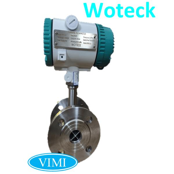 đồng hồ đo nước inox điện tử woteck 7