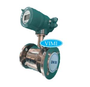 đồng hồ đo nước inox điện tử woteck 9