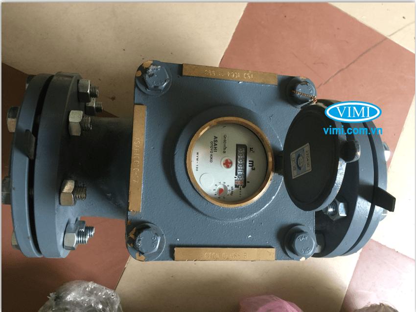 Đồng hồ nước Asahi WVM có mặt hiển thị với nhiều ưu điểm