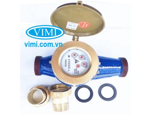 đồng hồ nước fuda lắp ren 03