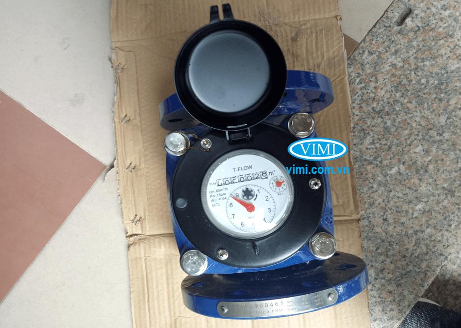 Đồng hồ nước sạch T-Flow mặt bích có áp lực làm việc tối đa PN16