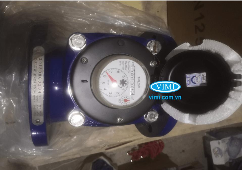 Cấp chính xác của đồng hồ nước sạch T-Flow mặt bích là cấp B