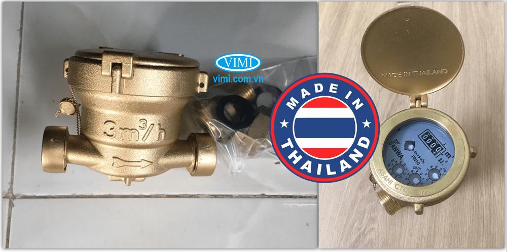 Đồng hồ nước sanwa sv15 xuất xứ thái lan