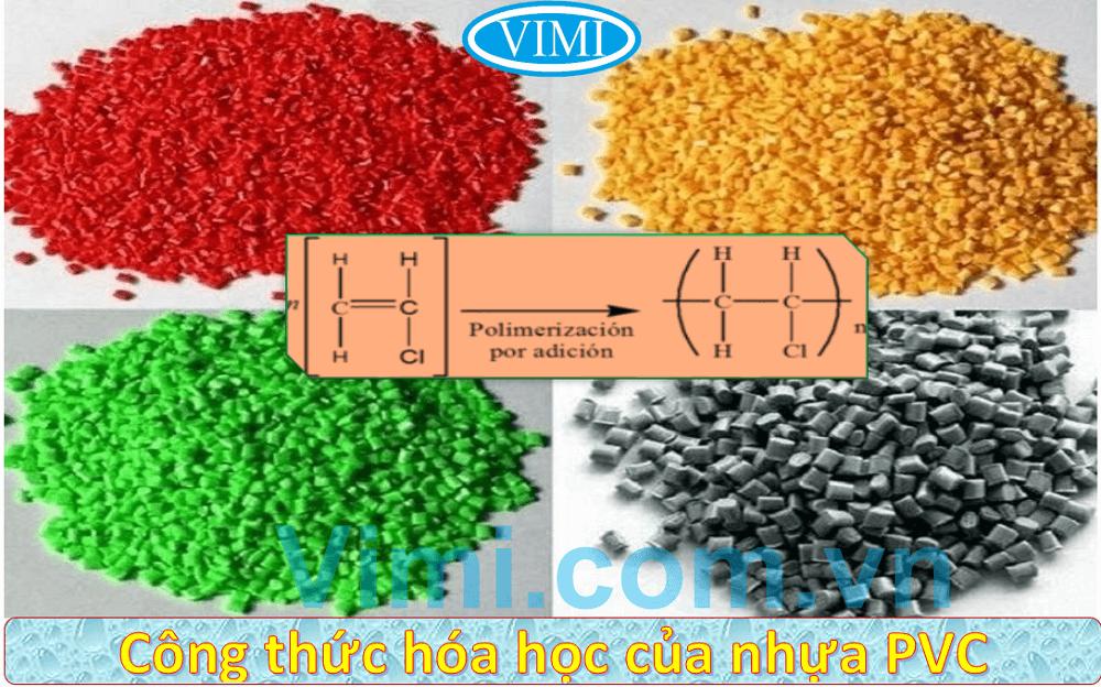 Công thức hóa học của nhựa PVC là gì