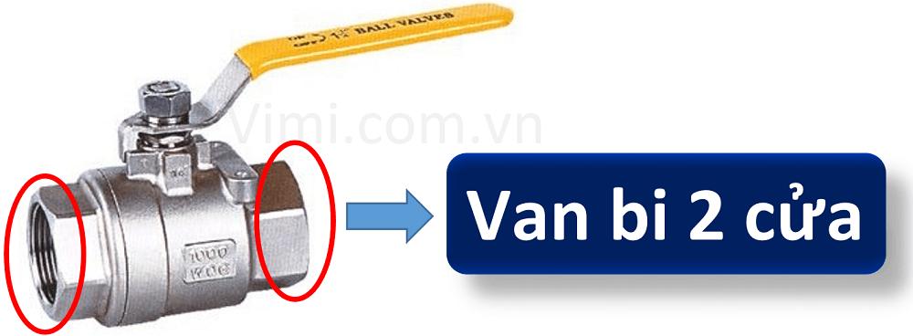 phân loại van bi 1
