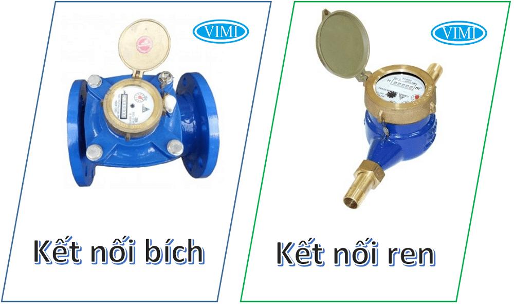 Đồng hồ đo nước lạnh fuda 4