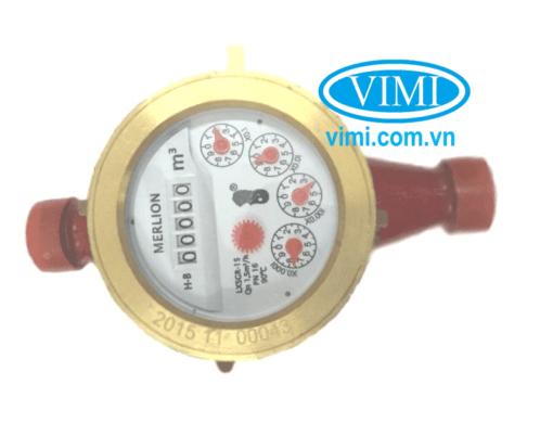 đồng hồ lưu lượng nước merlion nối ren 03