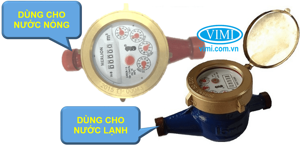 đồng hồ lưu lượng nước merlion nối ren 06