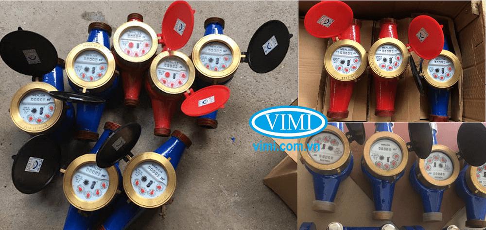 đồng hồ lưu lượng nước merlion nối ren 09