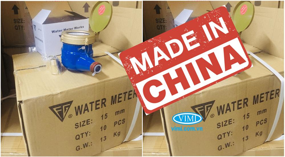 Đồng hồ nước FG nối ren nhập khẩu trực tiếp từ China