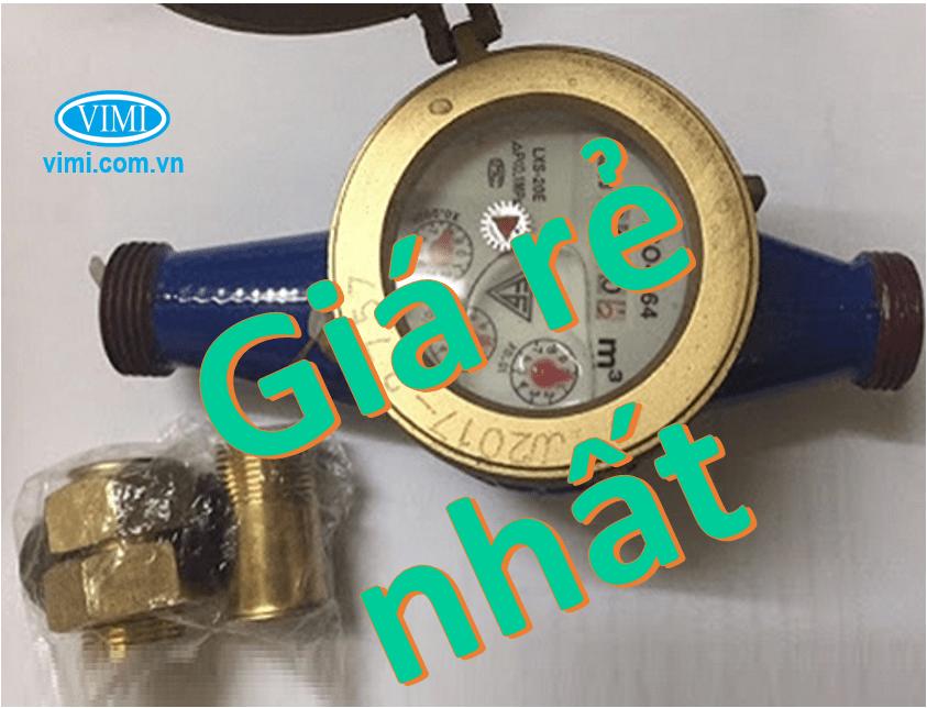 Đồng hồ nước FG nối ren giá rẻ