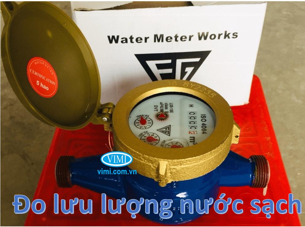 Sử dụng cho môi trường nước sạch, giếng khoan, nước thải xử lý tinh