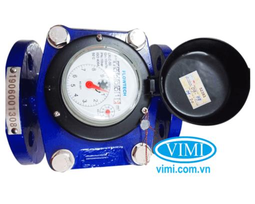 đồng hồ nước flowtech mặt bích 03