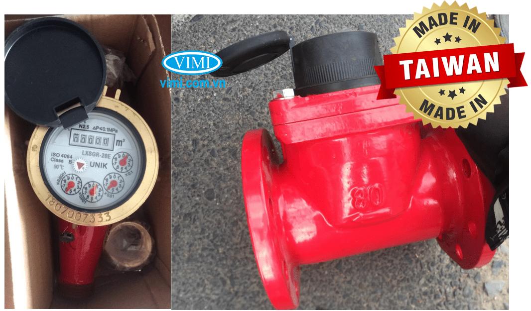 Sản phẩm Đồng hồ nước nóng Unik có xuất xứ chính hãng Đài Loan