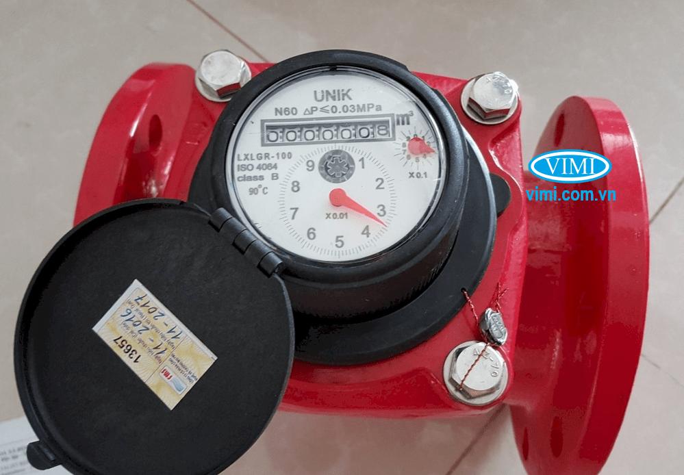 Được sử dụng để đo nước nóng có nhiệt độ từ 0 ~ 90 độ C