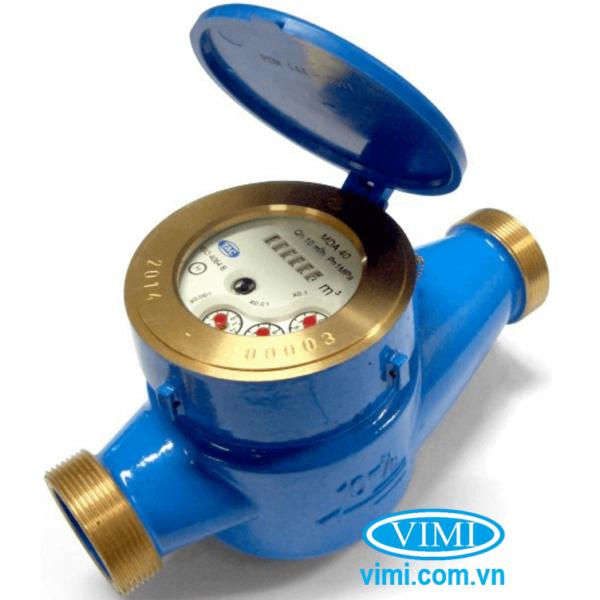 Đồng hồ nước sạch T-flow lắp ren 10