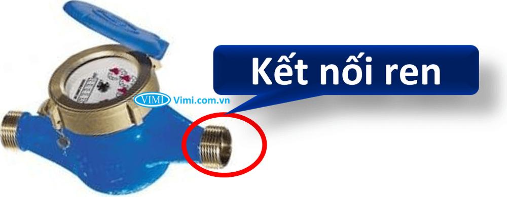 Đồng hồ nước flowtech nối ren 2