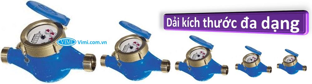 Đồng hồ nước flowtech nối ren 3