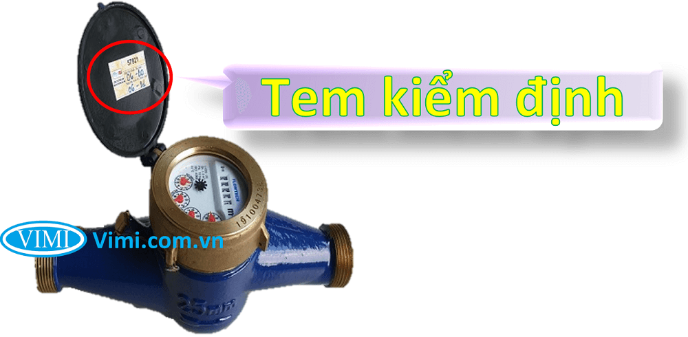 Đồng hồ nước flowtech nối ren 4