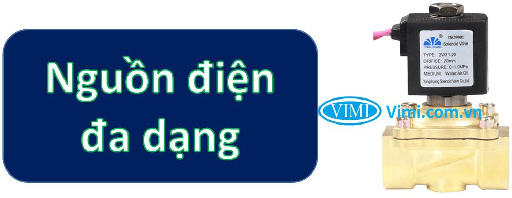 Van điện từ đồng yongchuang 3