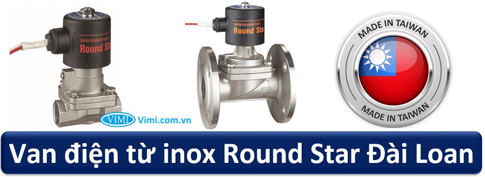 van điện từ inox round star 1