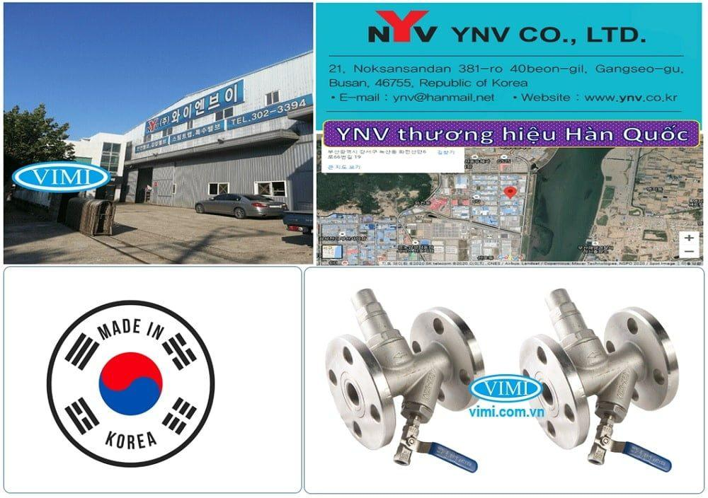 Bẫy hơi dạng Piston YNV của Hàn Quốc
