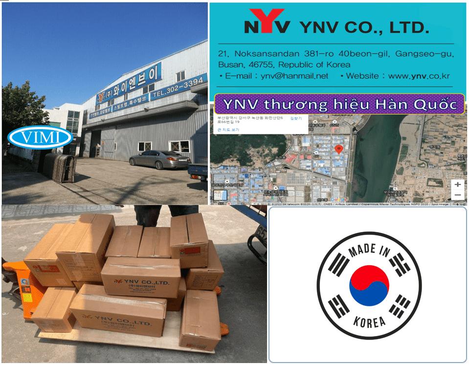 Bẫy hơi gầu đảo YNV có xuất xứ chính hãng Hàn Quốc