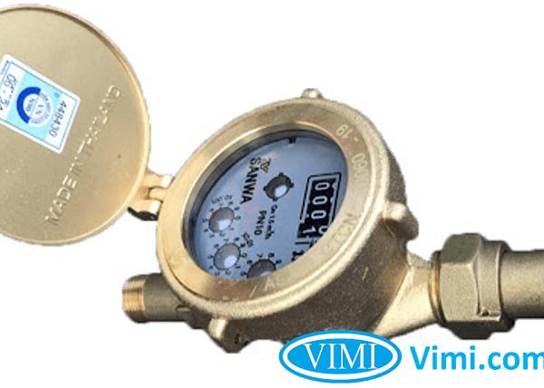 Đồng hồ nước sanwa sv25 4