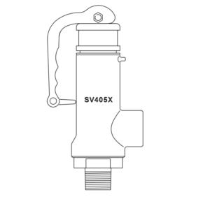 van an toàn nối ren spirax-sarco 12