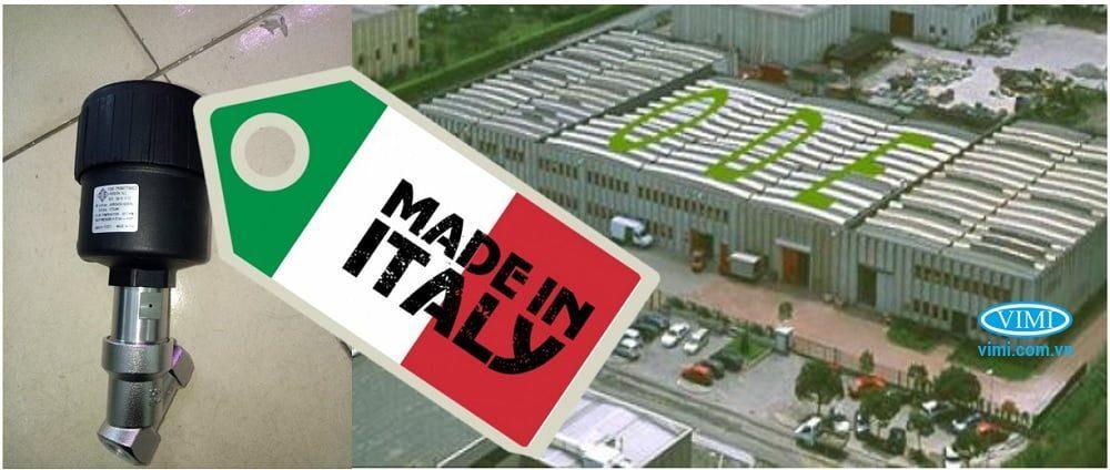 Van Y xiên khí nén 316 có xuất xứ ITALY - Châu Âu