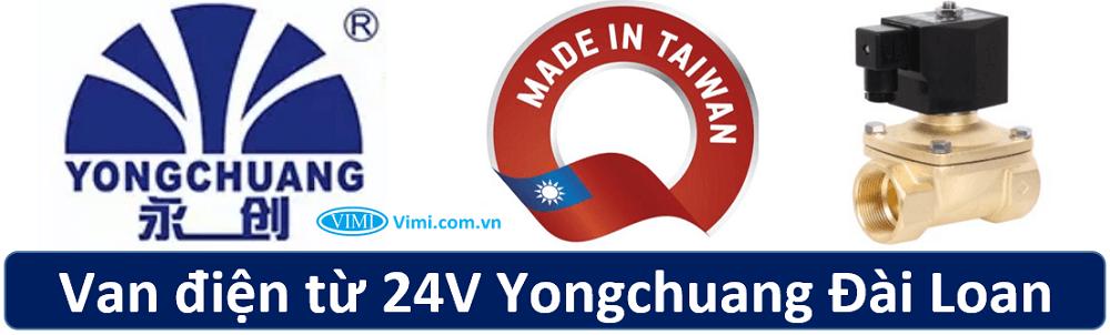 Van điện từ 24V Yongchuang 1