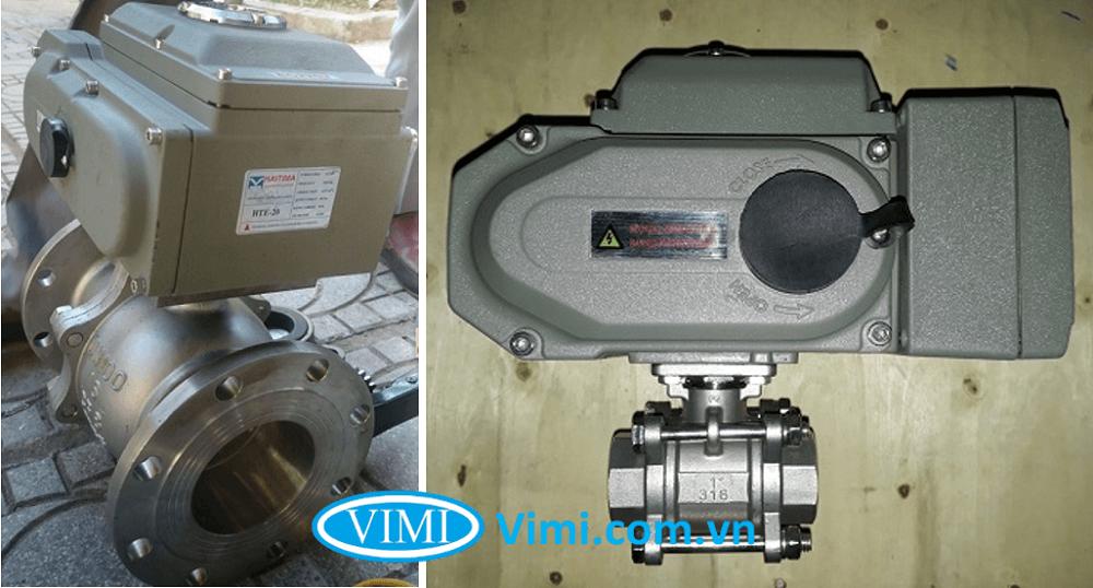 Van bi inox điều khiển điện tuyến tính Haitima 3