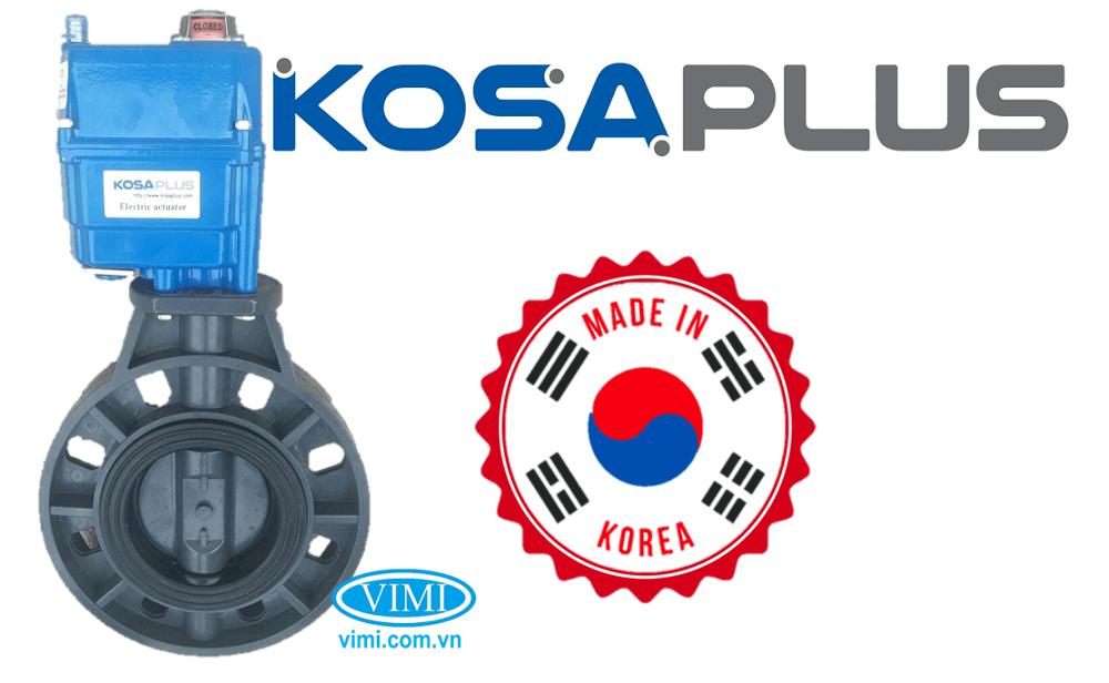 Van bướm nhựa điều khiển điện Kosaplus 1