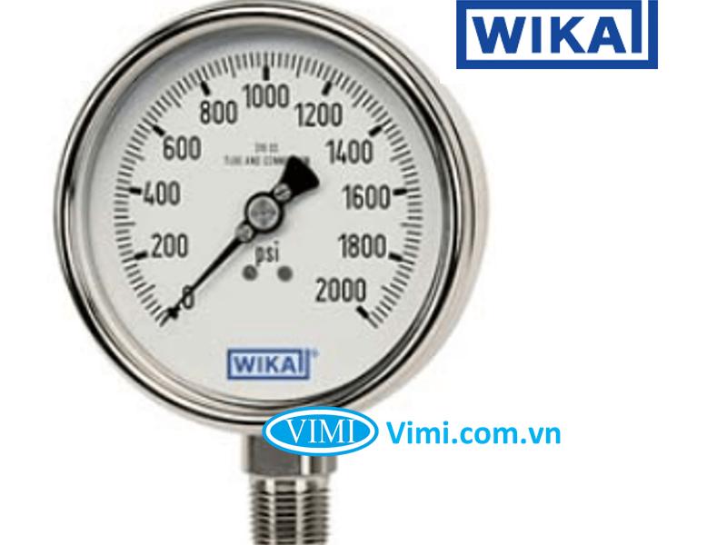 Đồng hồ áp suất wika 213.53 3